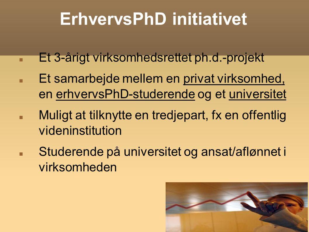 ErhvervsPhD initiativet