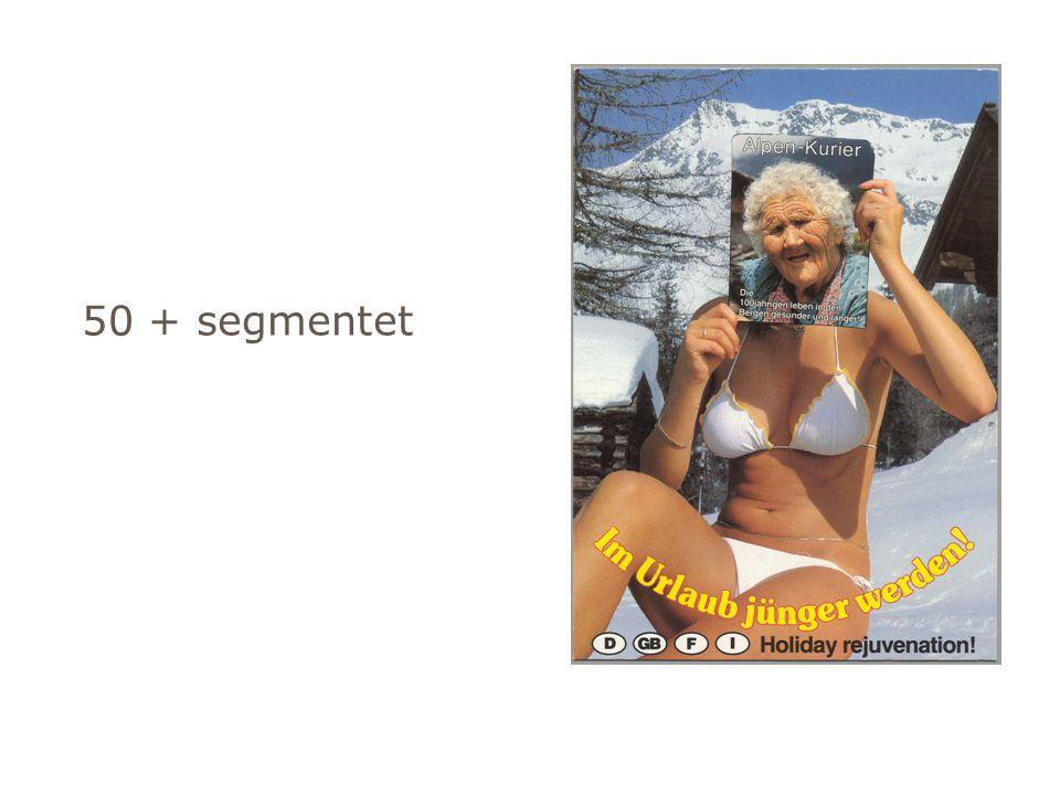 50 + segmentet