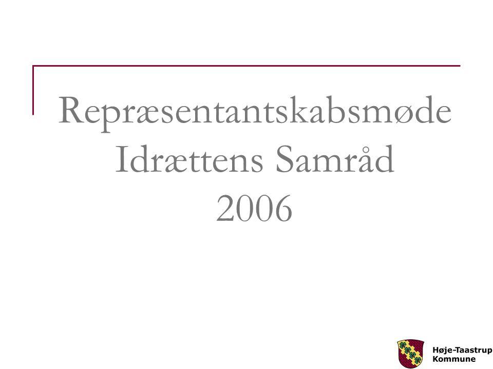 Repræsentantskabsmøde Idrættens Samråd 2006