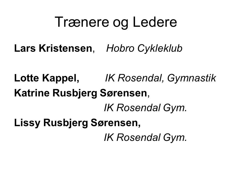 Trænere og Ledere Lars Kristensen, Hobro Cykleklub