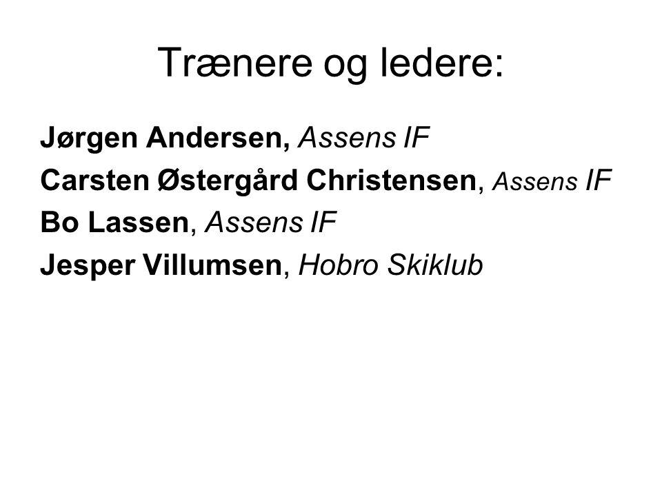 Trænere og ledere: Jørgen Andersen, Assens IF