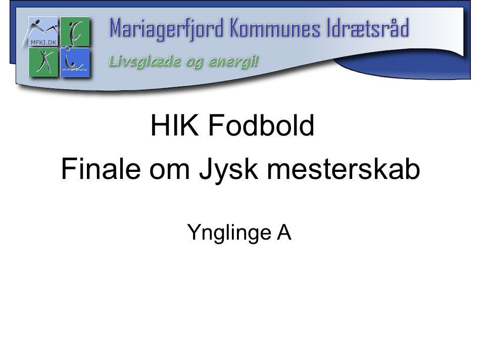 Finale om Jysk mesterskab