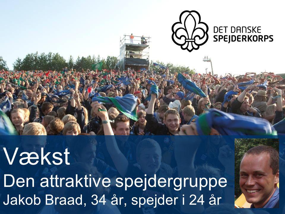 Vækst Den attraktive spejdergruppe Jakob Braad, 34 år, spejder i 24 år