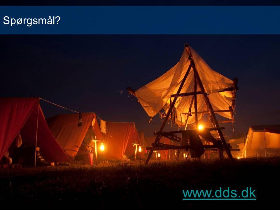 Spørgsmål www.dds.dk www.dds.dk