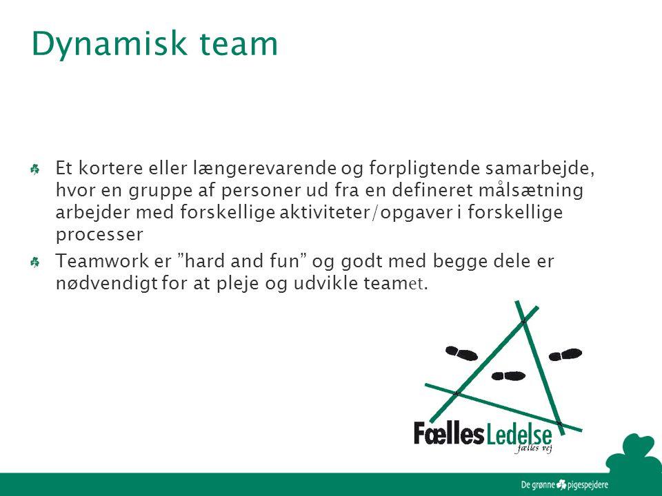 Dynamisk team