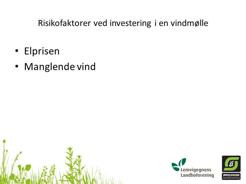 Risikofaktorer ved investering i en vindmølle