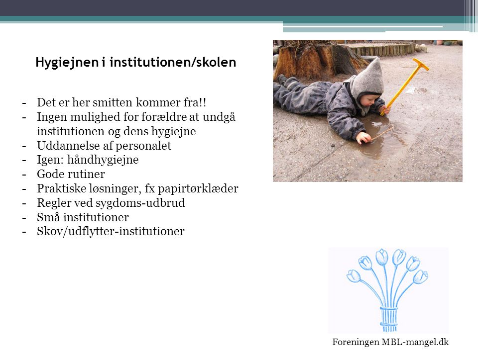 Hygiejnen i institutionen/skolen