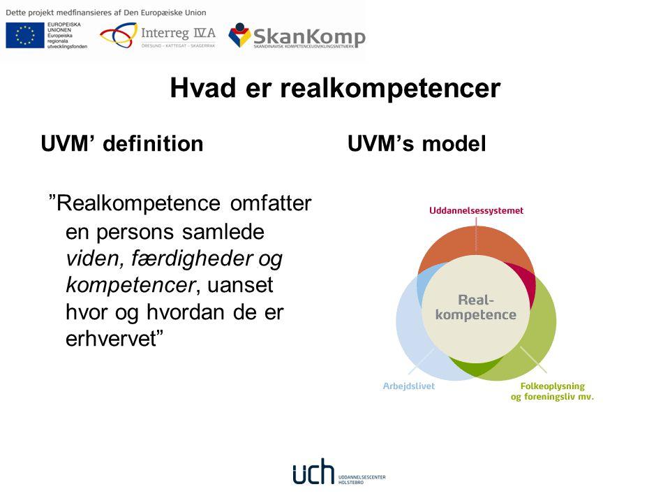 Hvad er realkompetencer