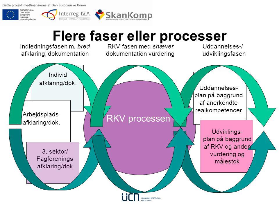 Flere faser eller processer