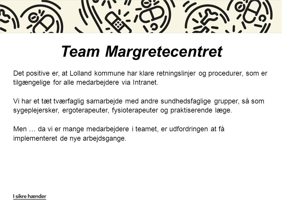 Team Margretecentret
