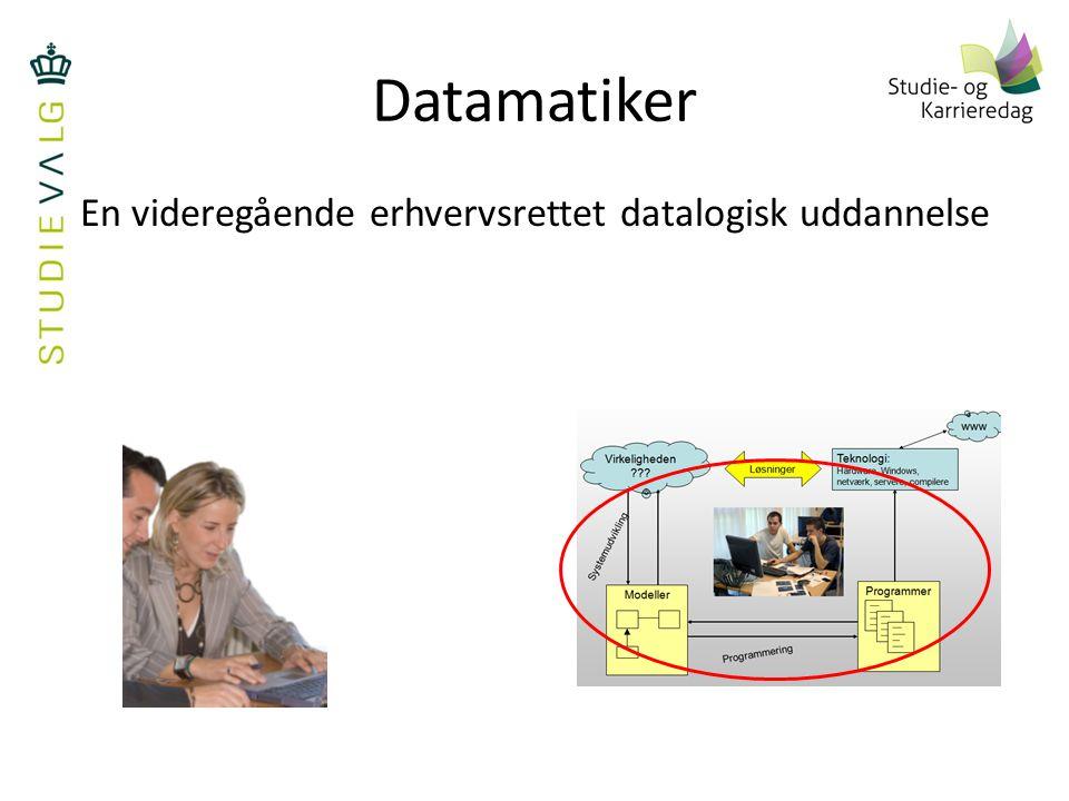 En videregående erhvervsrettet datalogisk uddannelse
