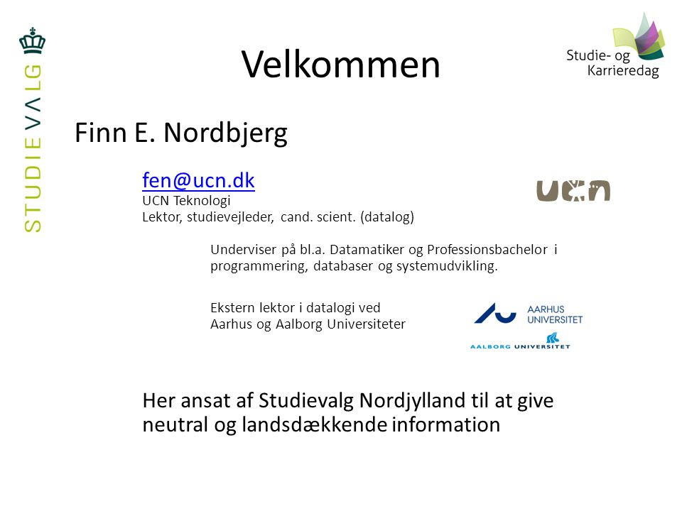 IT og software Datamatiker Diplomingeniør Datalog BSc. i IT - ppt video online download