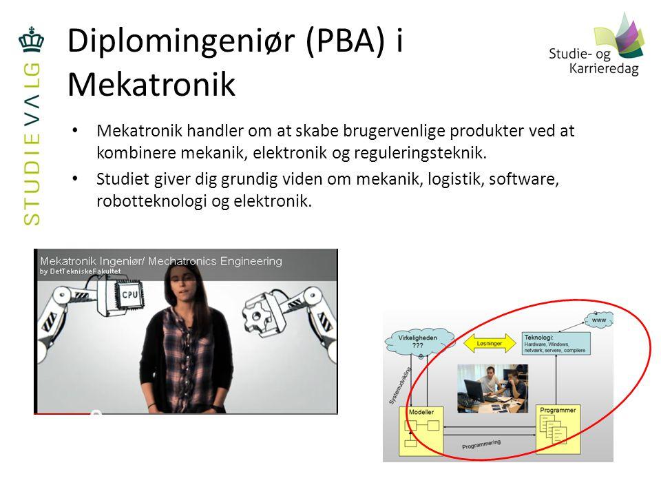 Diplomingeniør (PBA) i Mekatronik
