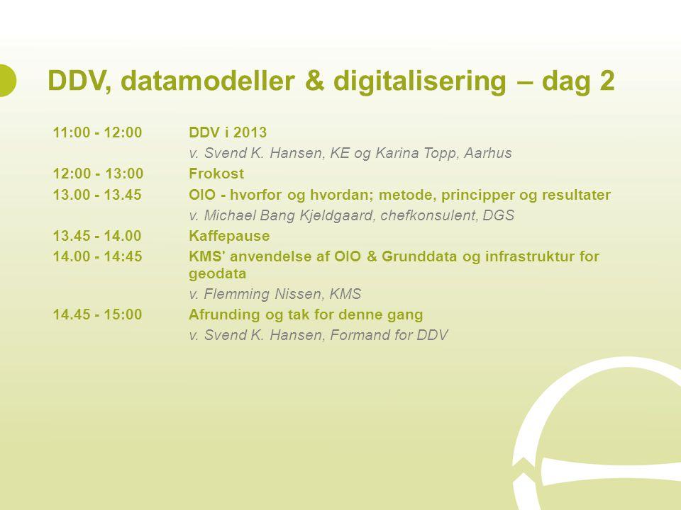 DDV, datamodeller & digitalisering – dag 2