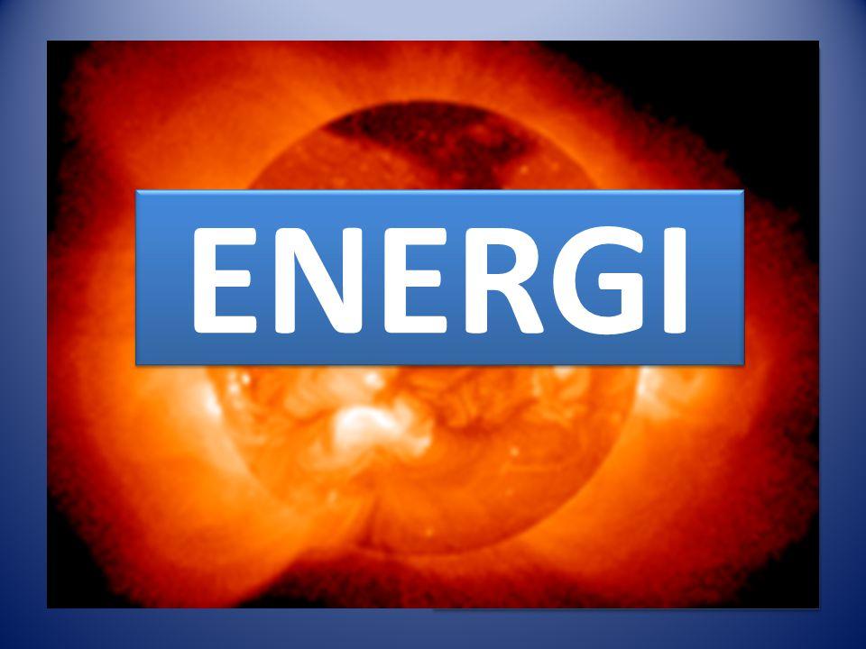 ENERGI Energiformer Mekanisk energi Elektrisk energi Magnetisk energi