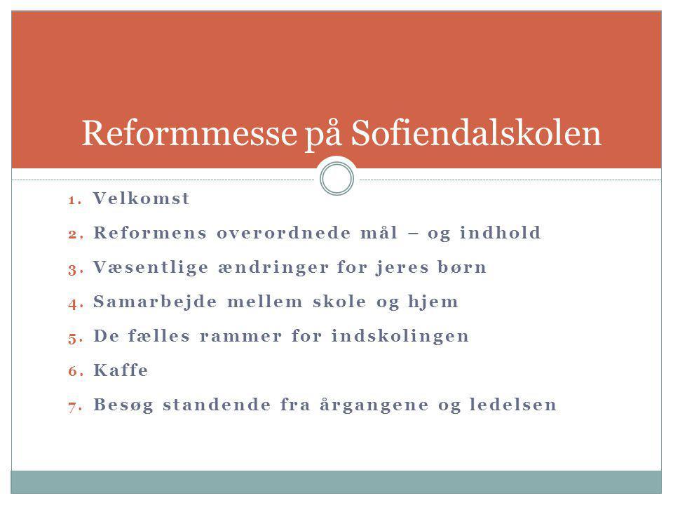 Reformmesse på Sofiendalskolen