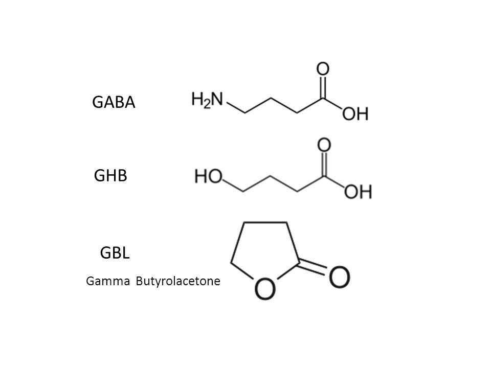 GABA GHB GBL Gamma Butyrolacetone
