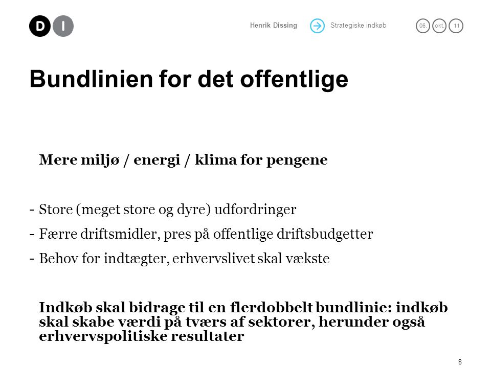 Bundlinien for det offentlige