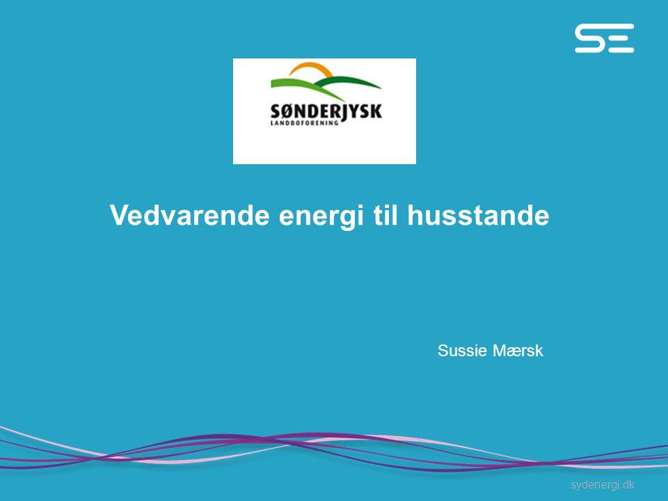 Vedvarende energi til husstande
