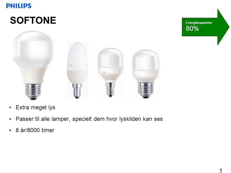 SOFTONE 80% Extra meget lys