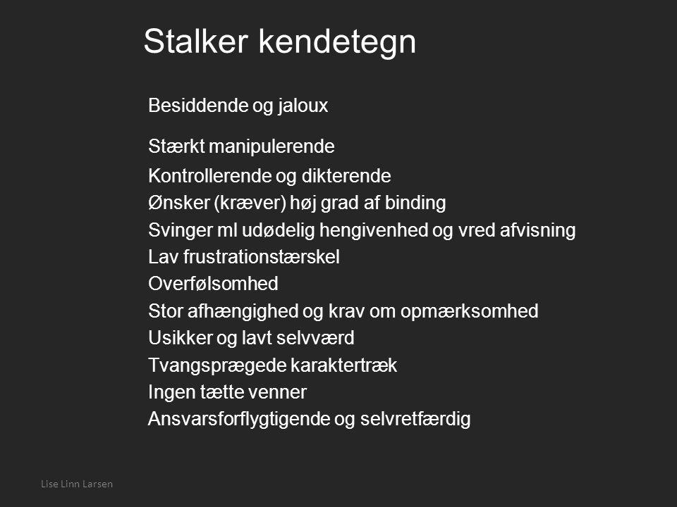Stalker kendetegn