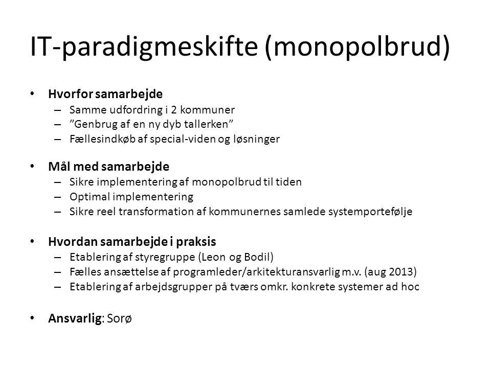 IT-paradigmeskifte (monopolbrud)