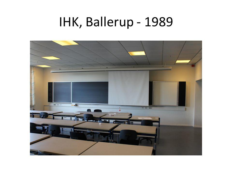 IHK, Ballerup - 1989
