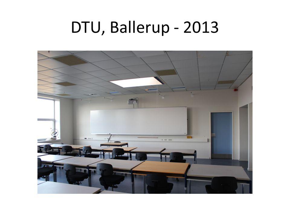 DTU, Ballerup - 2013