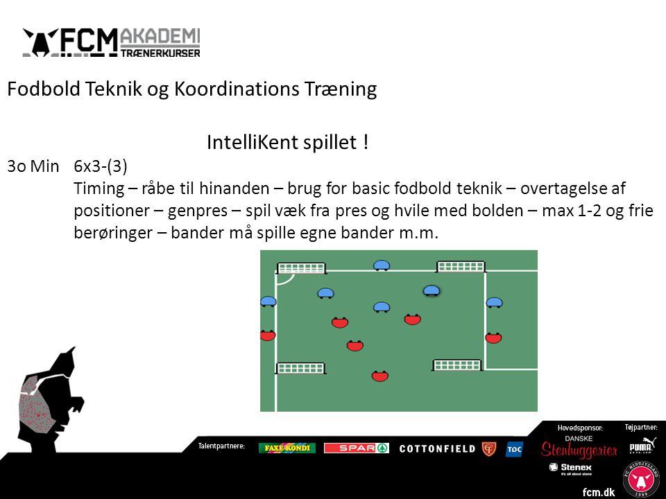 Fodbold Teknik og Koordinations Træning IntelliKent spillet !