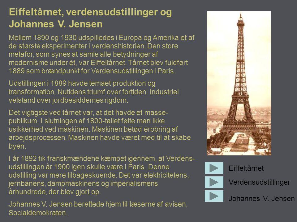 Eiffeltårnet, verdensudstillinger og Johannes V. Jensen