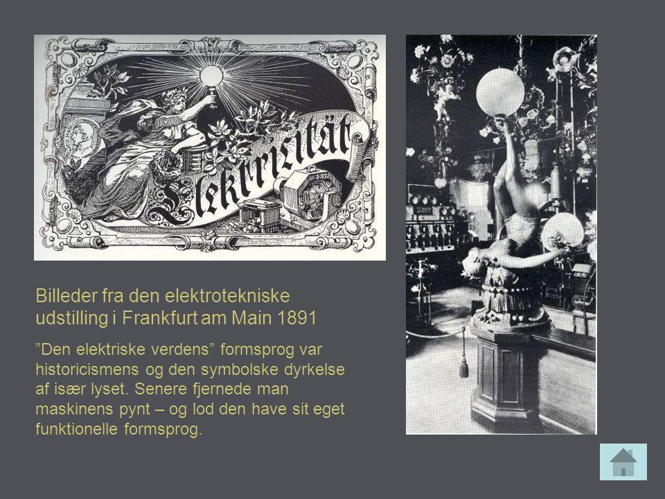 Billeder fra den elektrotekniske udstilling i Frankfurt am Main 1891