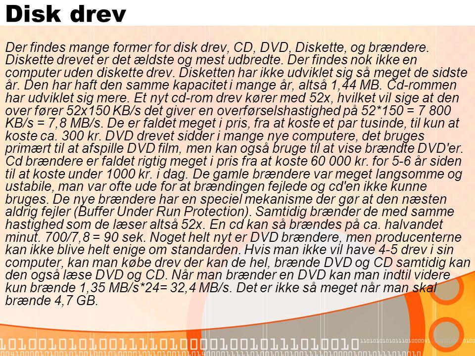 Disk drev