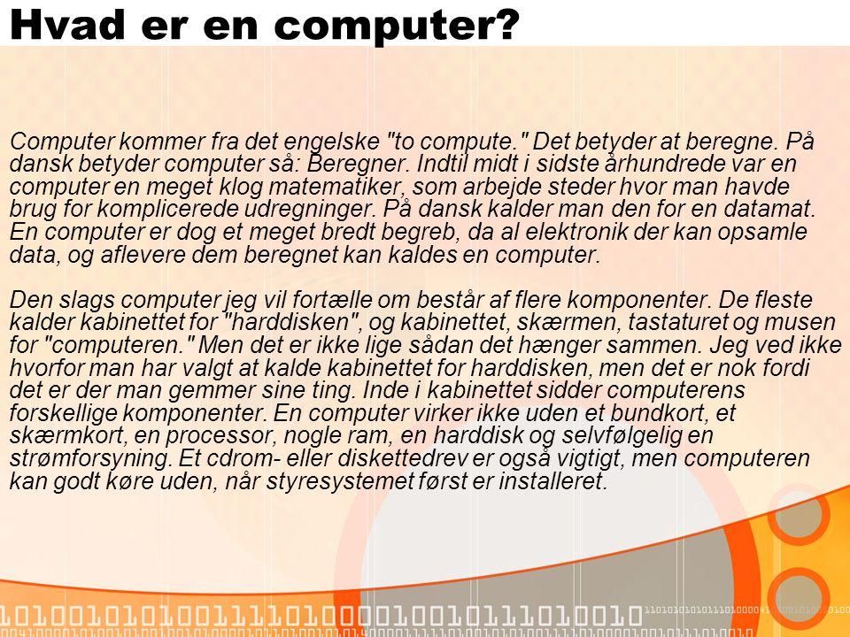 Hvad er en computer