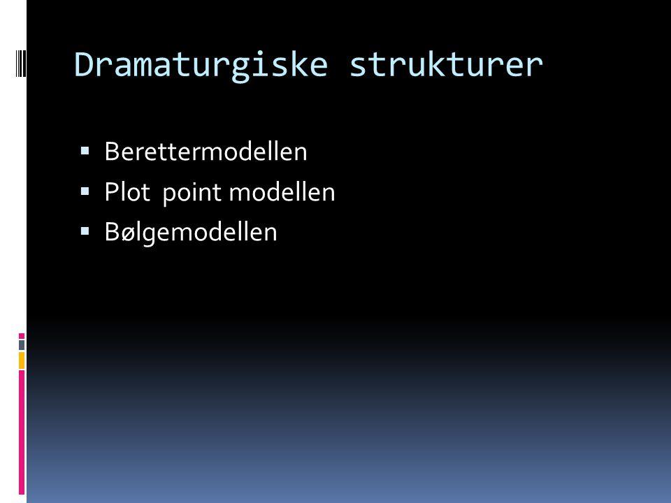 Dramaturgiske strukturer