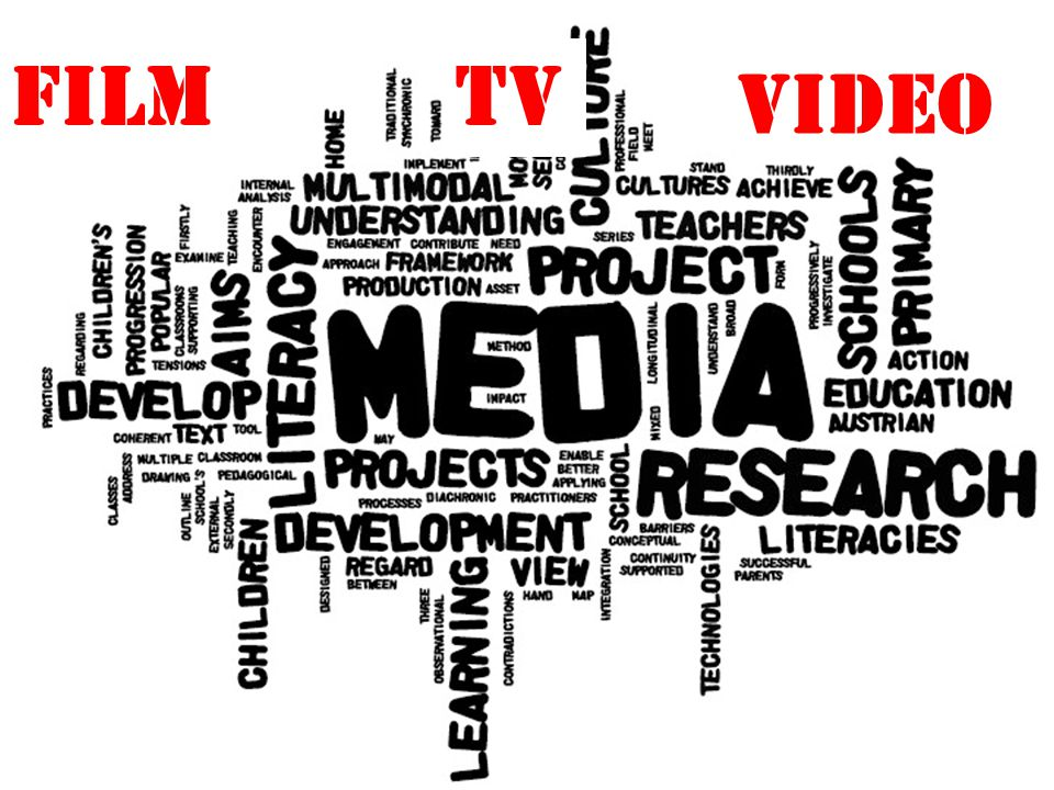 FILM TV VIDEo Medier mangesidet størrelse