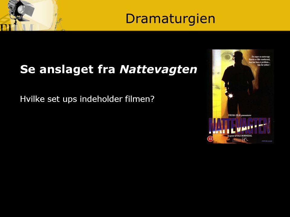 Dramaturgien Se anslaget fra Nattevagten