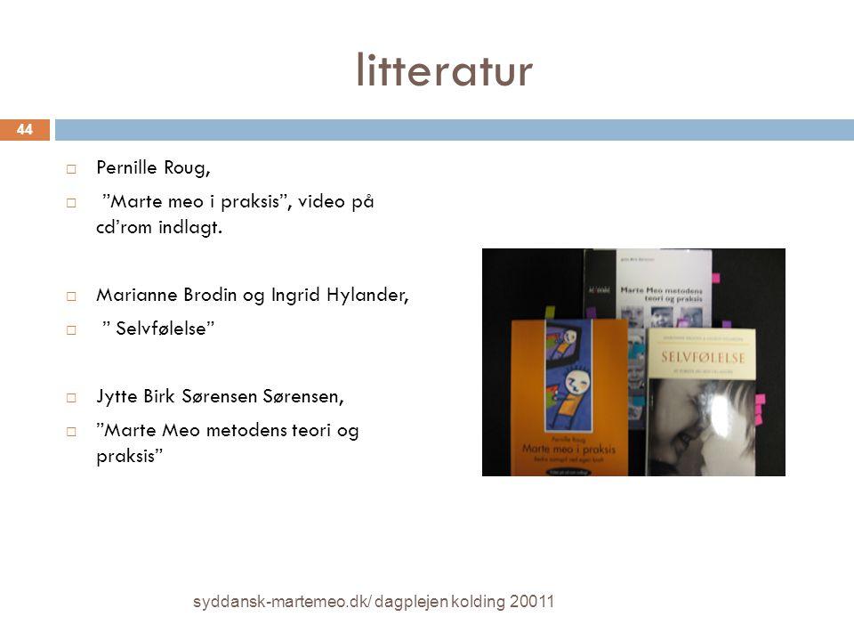 litteratur Pernille Roug,