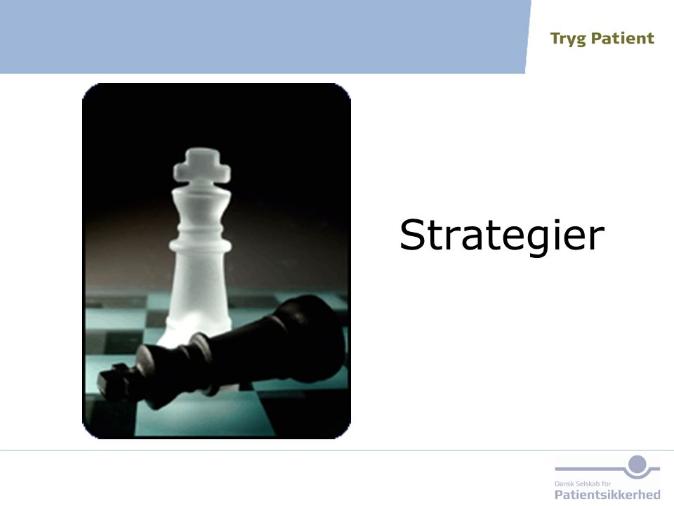 Strategier