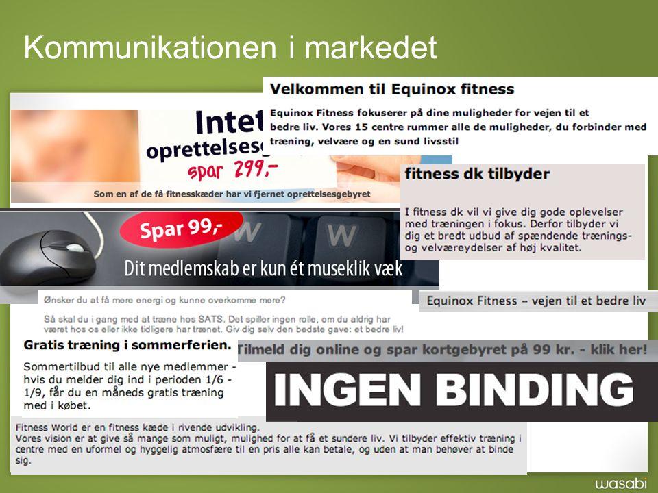 Kommunikationen i markedet