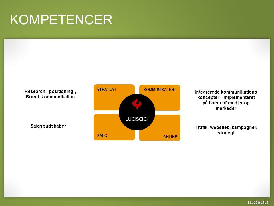 Trafik, websites, kampagner, strategi