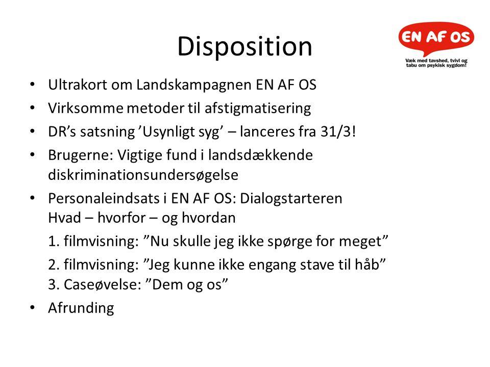 Disposition Ultrakort om Landskampagnen EN AF OS