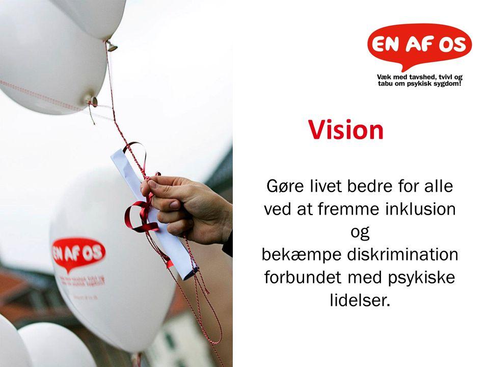 Vision Gøre livet bedre for alle ved at fremme inklusion og