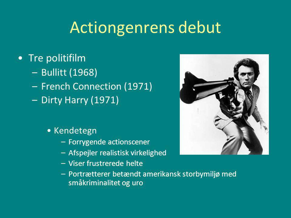 Actiongenrens debut Tre politifilm Bullitt (1968)