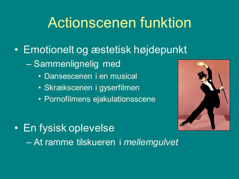 Actionscenen funktion