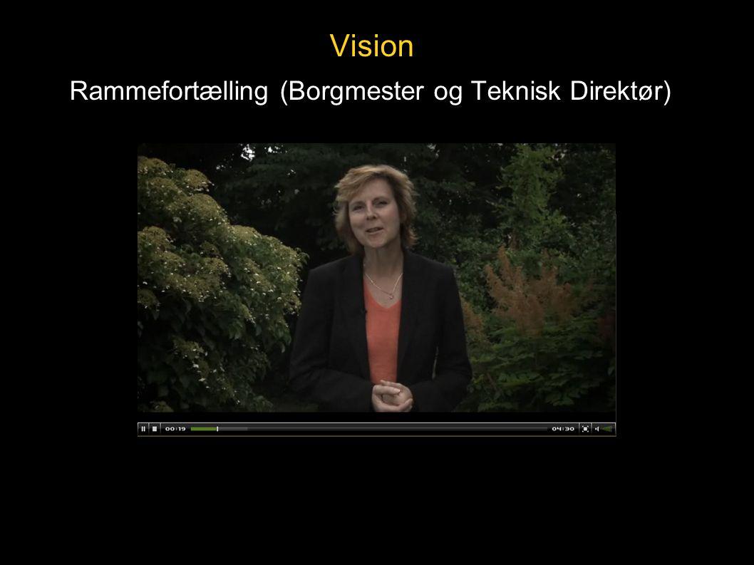 Vision Rammefortælling (Borgmester og Teknisk Direktør)