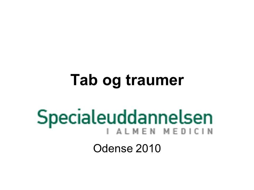 Tab og traumer Odense 2010