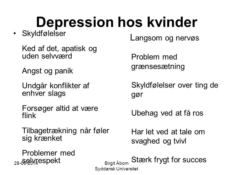 Depression hos kvinder