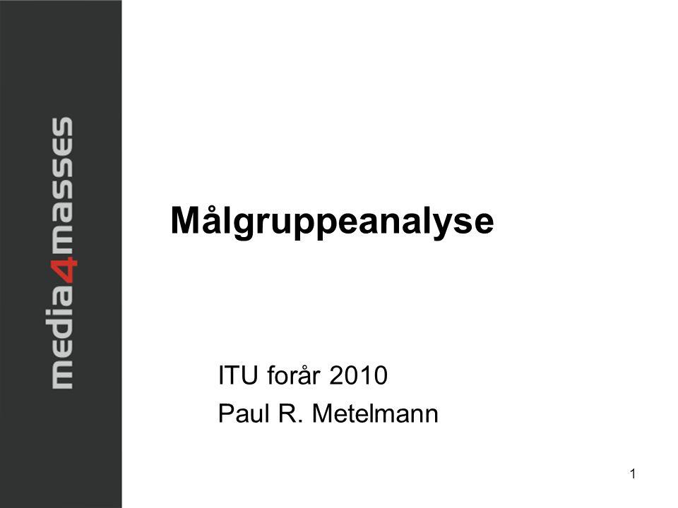 ITU forår 2010 Paul R. Metelmann