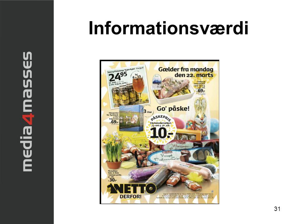 Informationsværdi