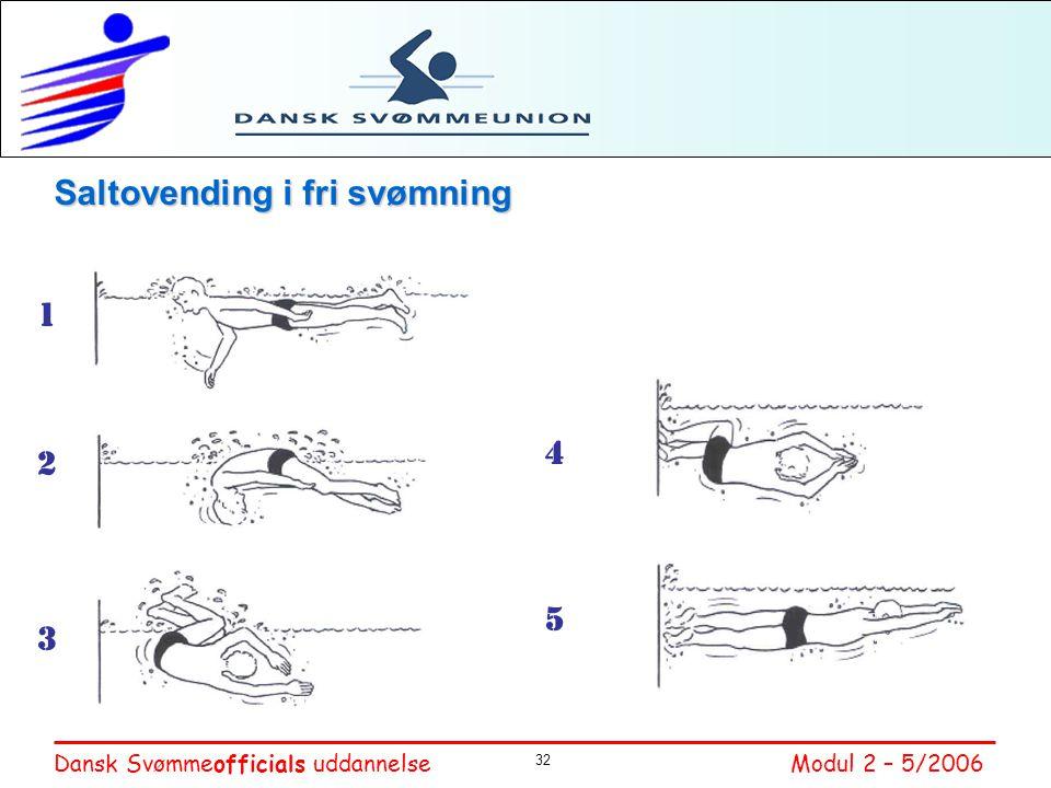 Saltovending i fri svømning